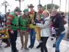 Arrivée du Père Noel en Pointu 2014