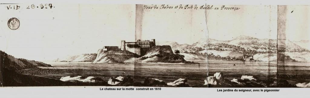 Dessiné par Barras de La Penne officier des galères de Marseille