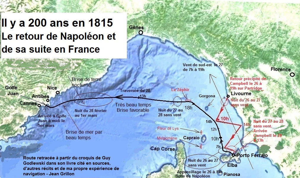 Hypothèse route maritime