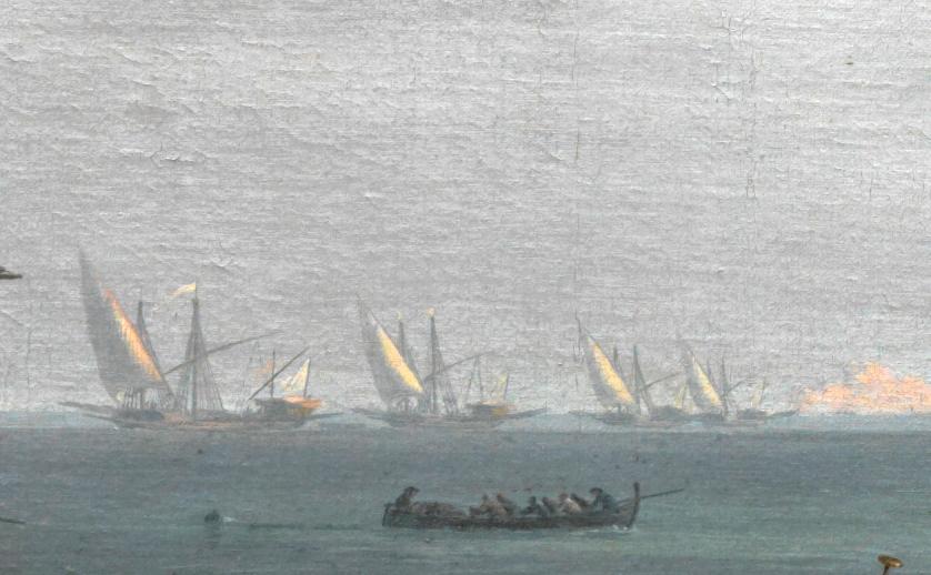 Les galères du Roy arrivent de Marseille où elles sont basées.