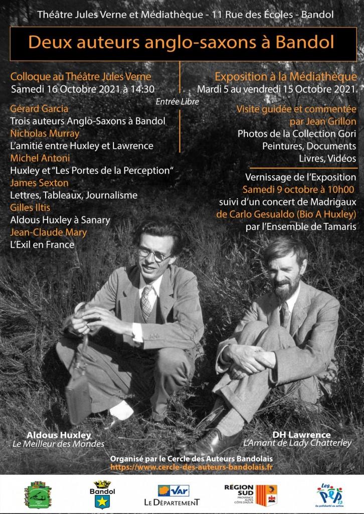Aldous Huxley et DH Lawrence, on évoque aussi Katherine Mansfield